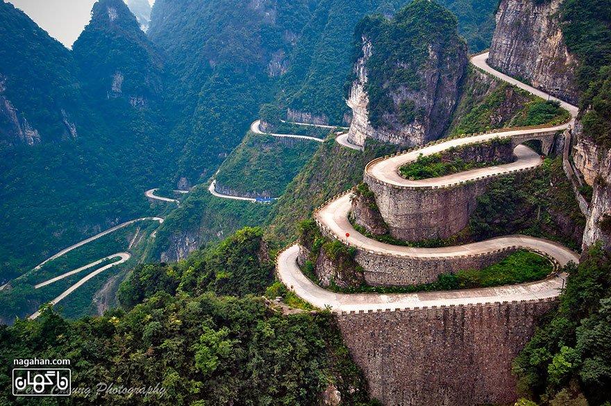 جاده کوهستانی تیانمن، ژانگ ژیا ژیه
