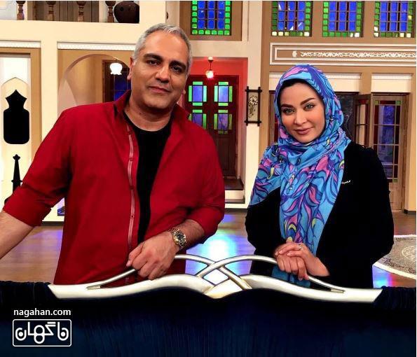 عکسفقیهه سلطانی ، بازیگر جوان سینما و تلویزیون در برنامه دورهمی
