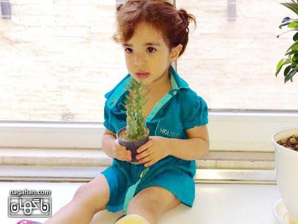 عکس دختر رضا صادقی - عکس تیارا صادقی