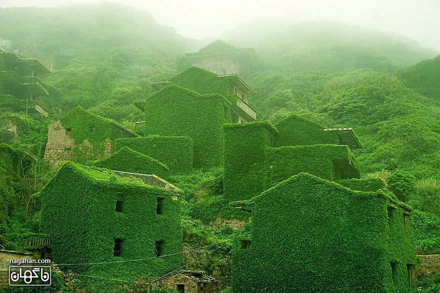 روستای متروکه، جزیره شنگسی، ژوشان