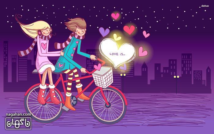 والپیپر ولنتاین و کارت پستال عاشقانه | valentine 2017 1