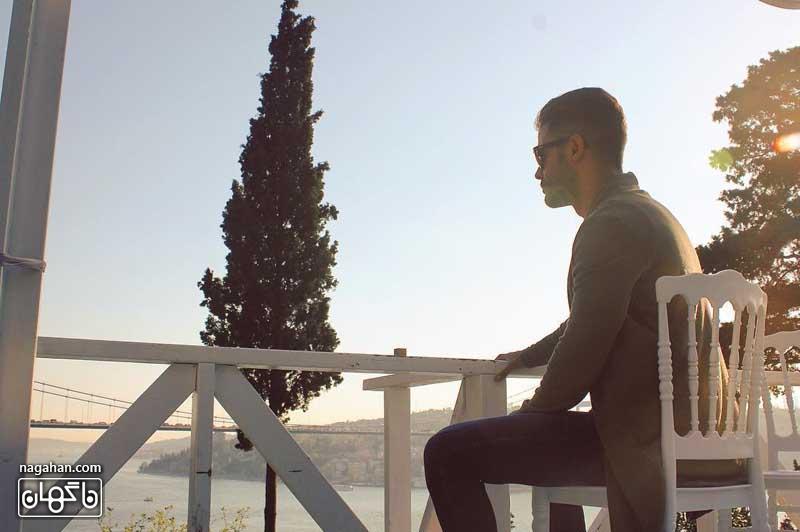 عکس جدید سیروان خسروی در اسپانیا