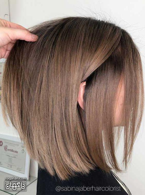 رنگ مو آمره قهوهای روشن