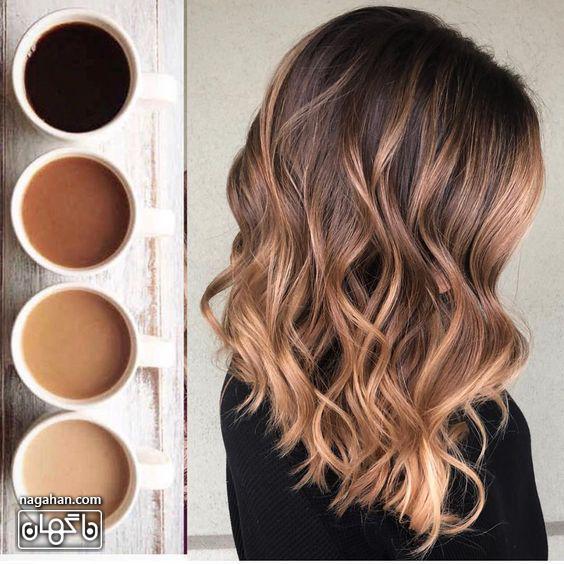 ترکیب رنگ مو روشن