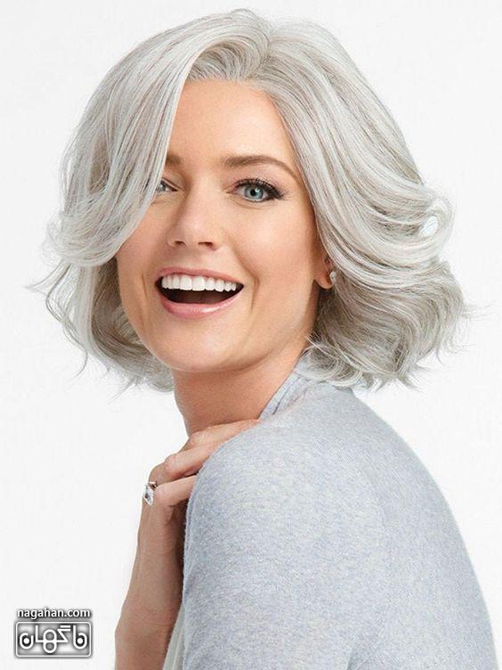 مدل مو کوتاه و جوگندمی و سفید شیک