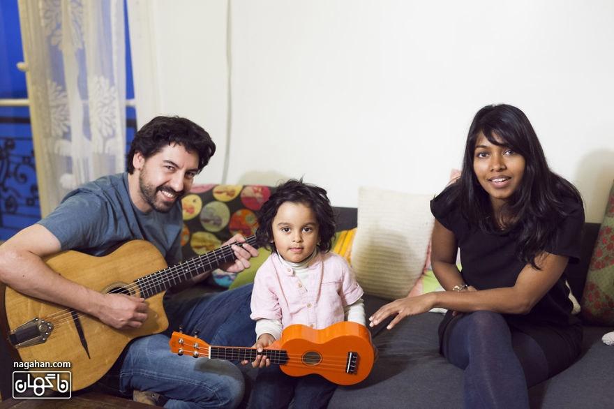 خانواده در سراسر جهان ؛ یک خانواده فرانسوی (پاریس)
