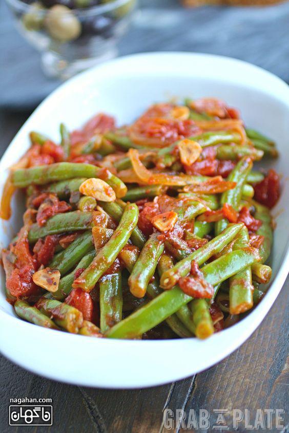 دستور غذای کلاسیک، سالم و گیاهی از غذاهای لبنانی
