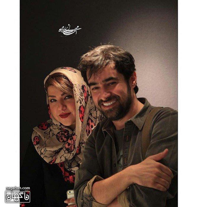عکس همسر شهاب حسینی و شهاب حسینی