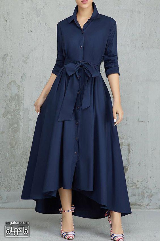 مدل لباس پیراهن بلند اسپرت دخترانه و زنالنه