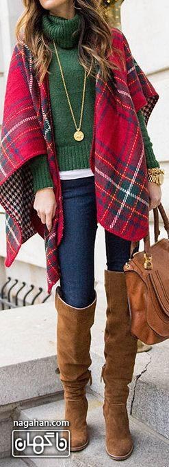 لباس های گرم و شیک مخصوص زمستان 95 | کالکشنن جدید لباس های زمستانی 2017