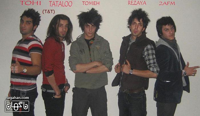 عکس قدیمی تتلو ، رضایا ، تهی ، آرمین 2fm و تومه قبل از شهرت