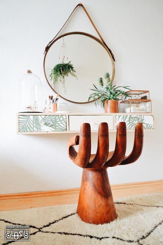 جدیدترین مدل میز و آینه کنسول مدرن و شیک