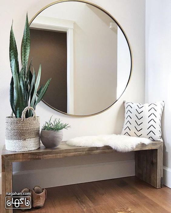 جدیدترین مدل میز و آینه کنسول برای ورودی خانه