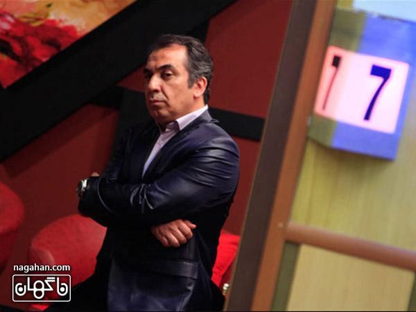 سیامک انصااری در فیلم مهران مدیری