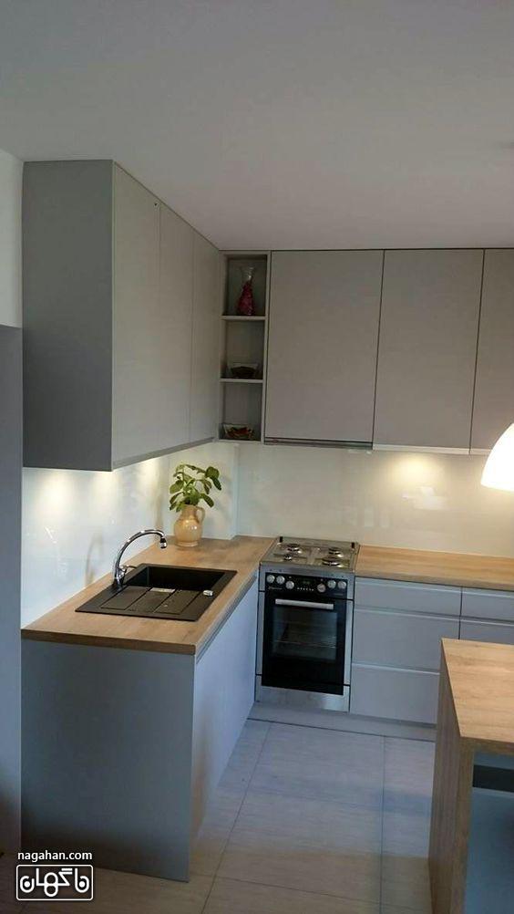مدل کابیت و بین کابینتی جدید برای آشپزخانه