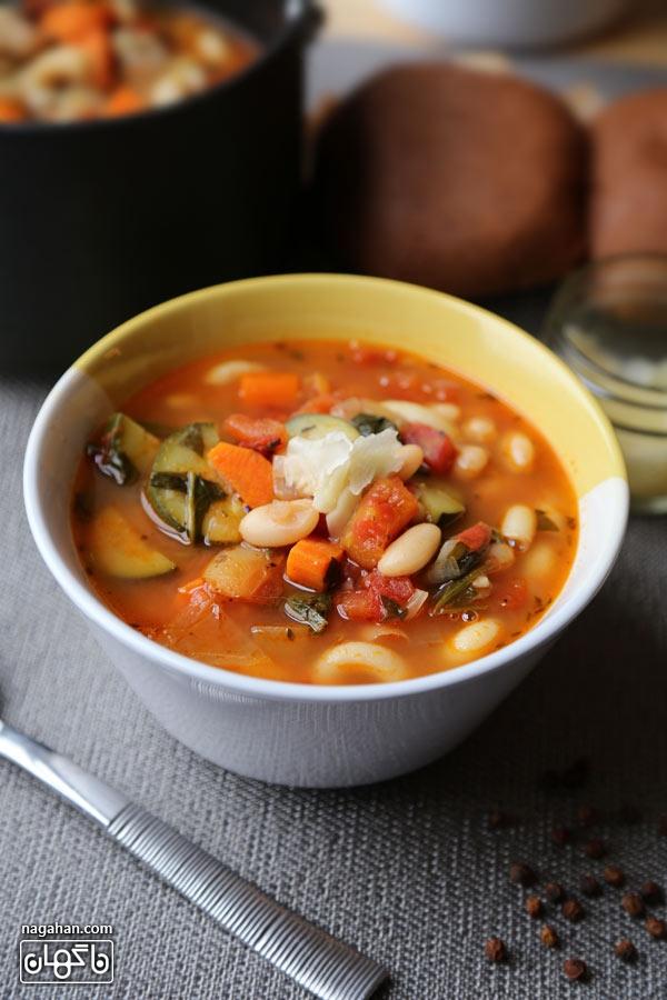 سوپ دلچسب ایتالیایی