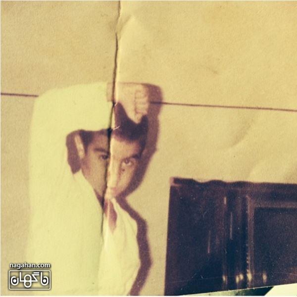 محسن تنابنده در لباس کاراته