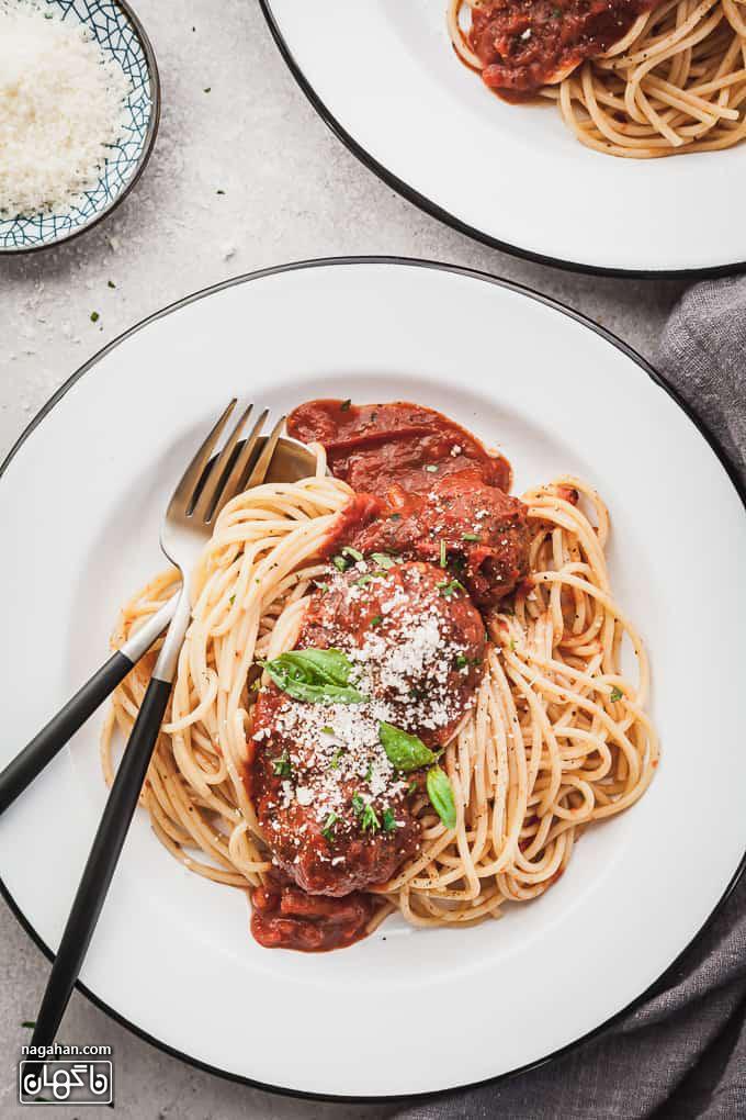 کوفته قلقلی بادمجان یک نسخه گیاهی از غذاهای محبوب ایتالیایی