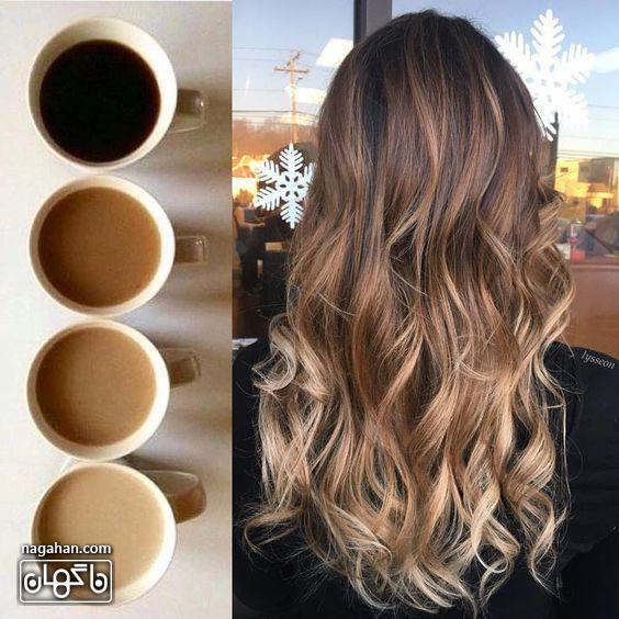 ترکیب رنگ مو بلوند