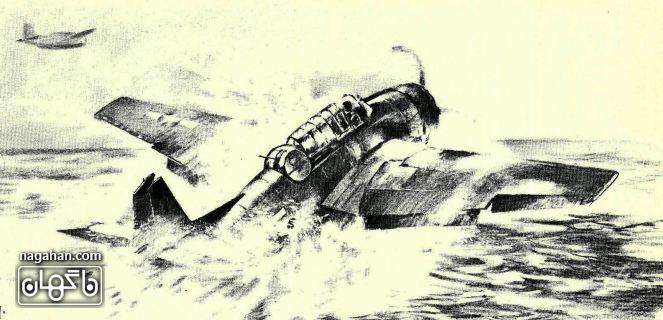 سقوط هواپیما در مثلث برمودا
