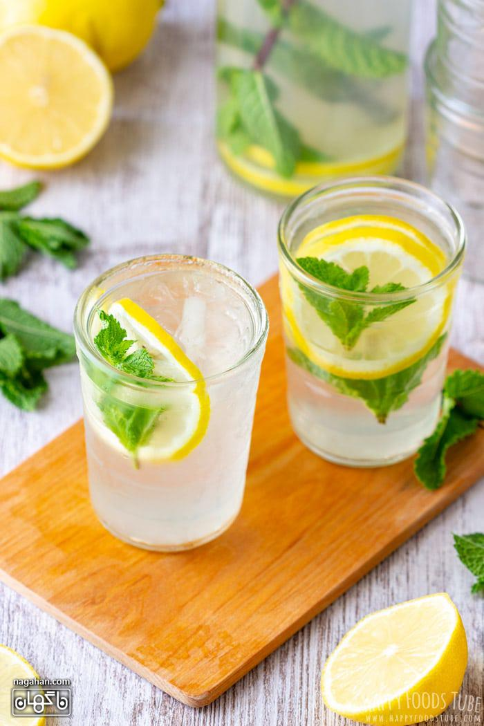 طرز تهیه لیموناد نعنا